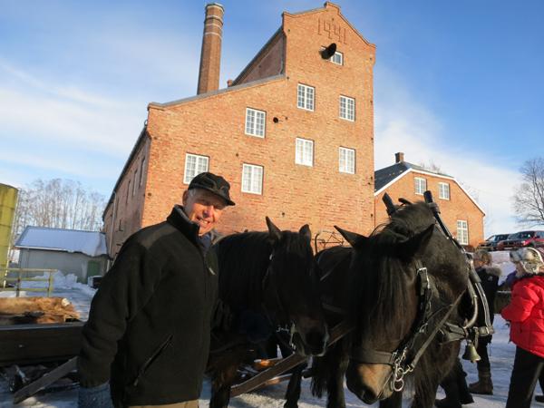 Lasskjører Emil Bryn fra Romedal er klar for Rørostur. Foto: Karine Bogsti
