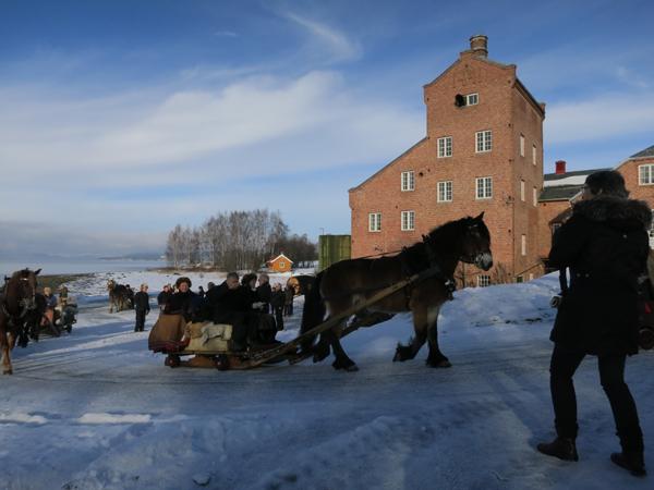 Kusk Marit Lahlum Ruud styrer mot Røros. Foto: Karine Bogsti