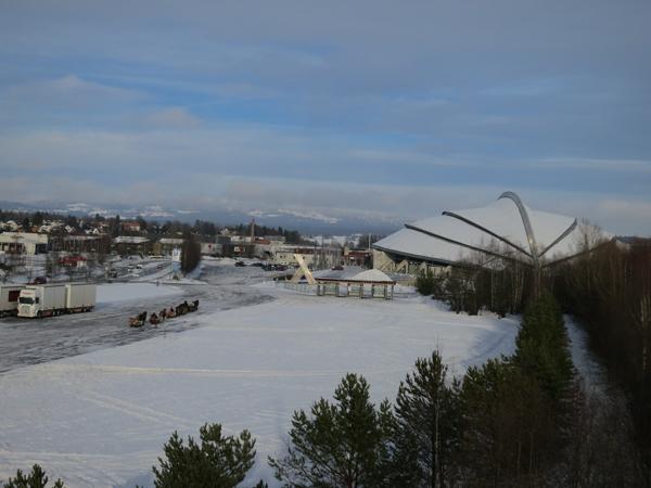 På tur i Hamar. Foto: Karine Bogsti