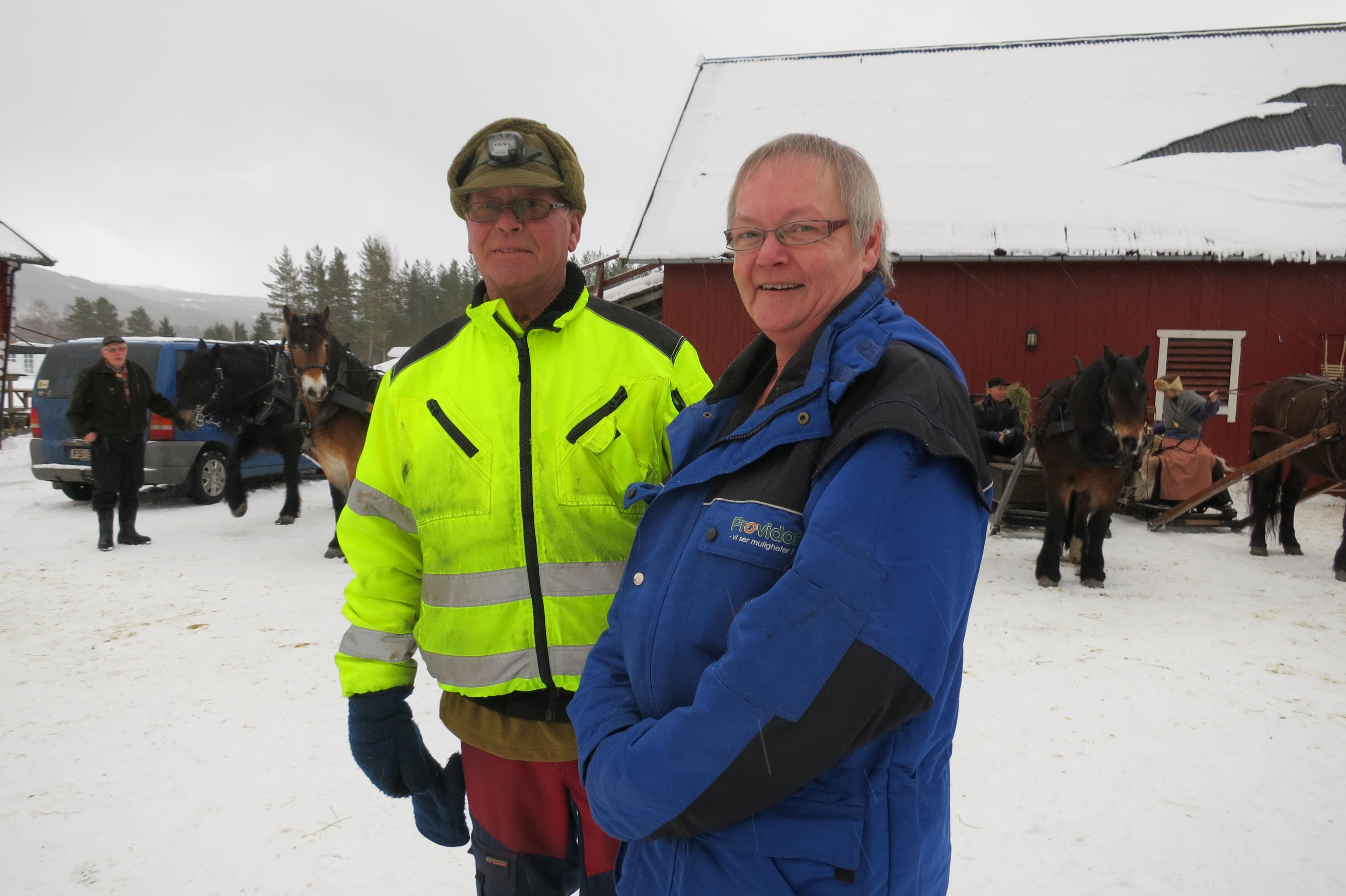 Vi har hatt det supert hos Bjørn og Randi Dahlen på Atna camping, med så god mat og service og veghjelp. Foto: K Bogsti