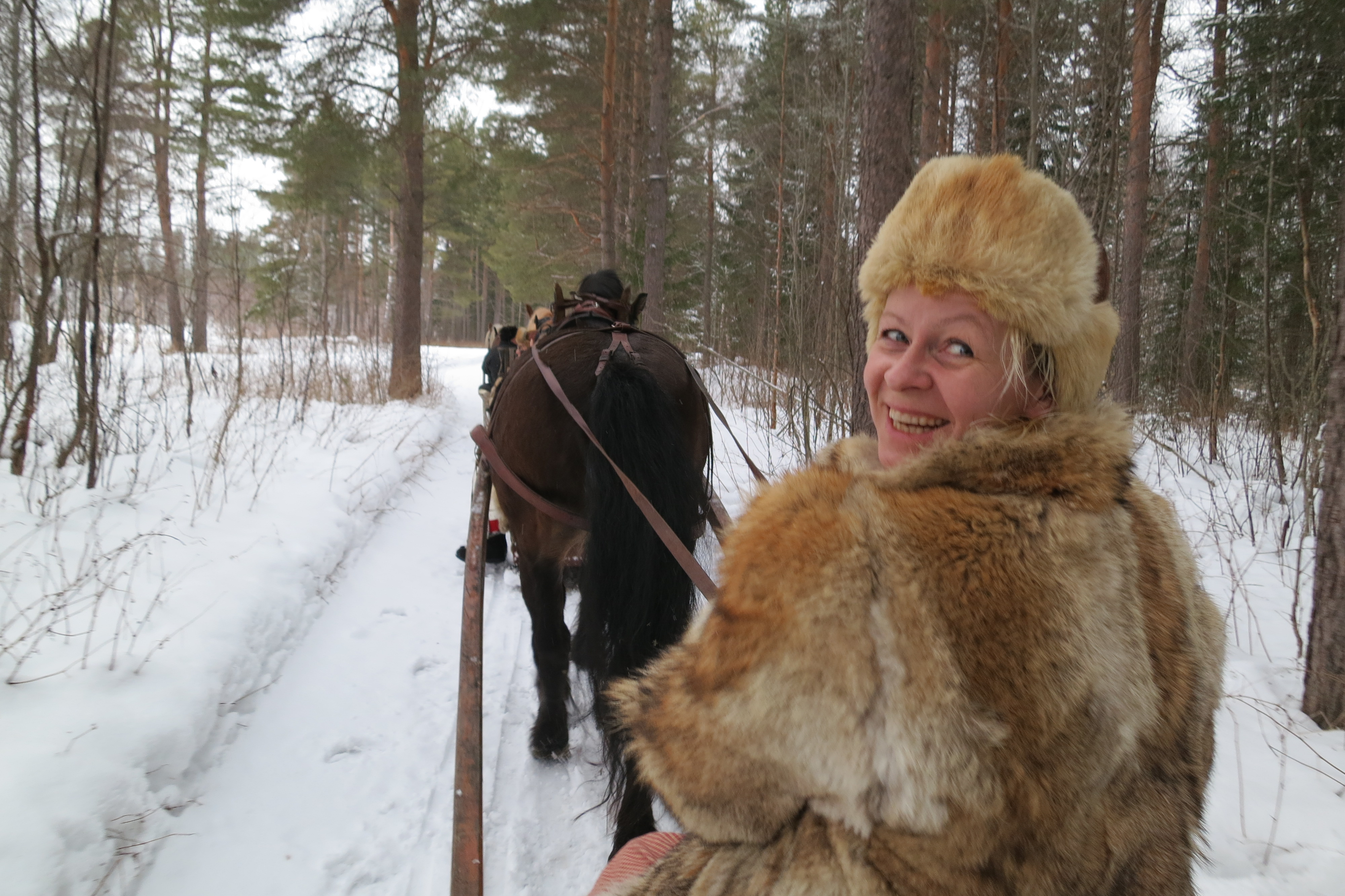 Kjempefint fra Atna, og Gry er like blid som alltid. Foto: Karine Bogsti