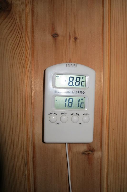Perfekt temperatur på morgenen på Telneset! Foto: Karine Bogsti