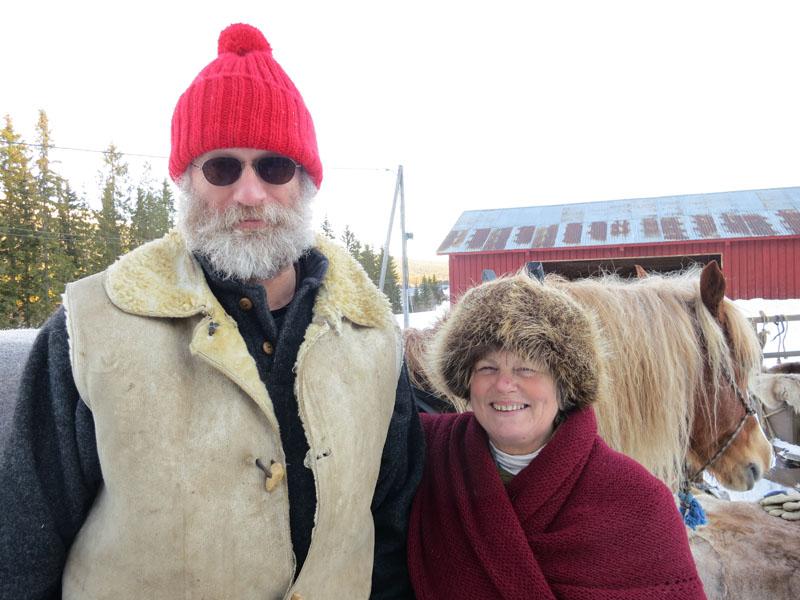 Jørgen Hveem fra Veldre og Eli Lang-Ree fra Stange. Foto: Karine Bogsti