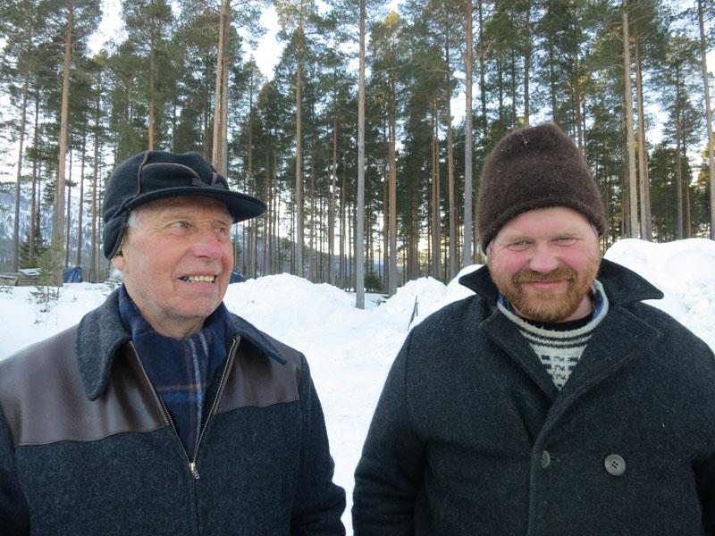 Emil Bryn (t.v.) og Truls Mathisen, begge fra Romedal. Foto: Karine Bogsti