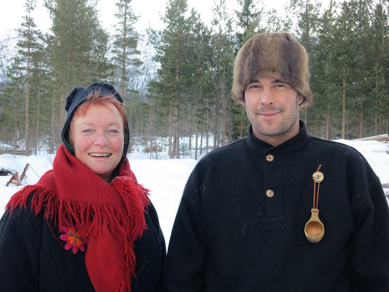 Mari Bryhni fra Løten og Jøran Lunde fra Stange. Foto: Karine Bogsti