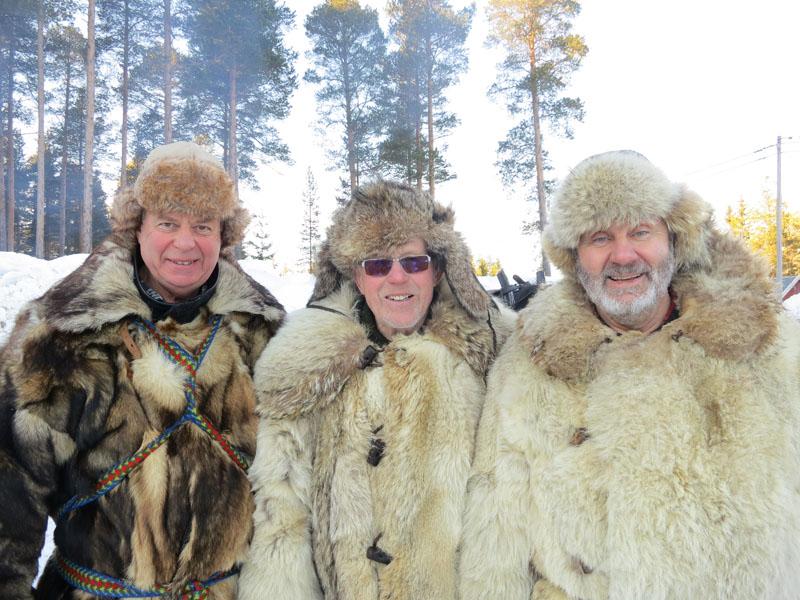 F.v.: Kjell Aage Øie-Kjølstad fra Furnes, Mikkel Dobloug fra Furnes og Hans Lahlum fra Stange. Foto: Karine Bogsti