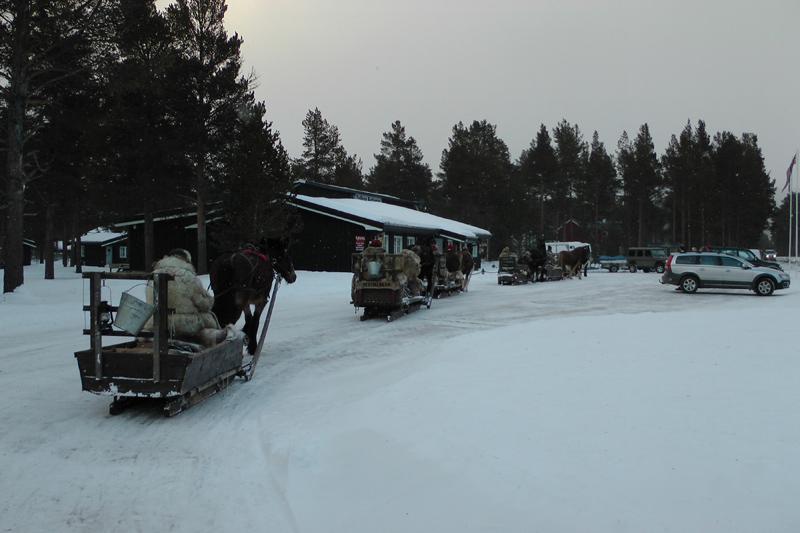 Lasskjørera bor campingen på Trollkroa. Veldig god mat der, så verdt en stopp om en kjører forbi. Foto: Karine Bogsti