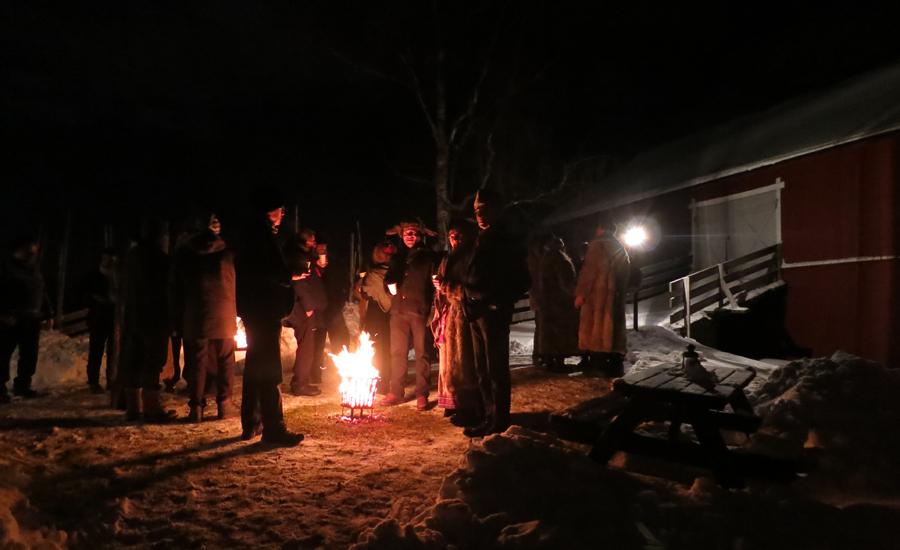 Stemningsfull start på jubileet på Nashoug gard