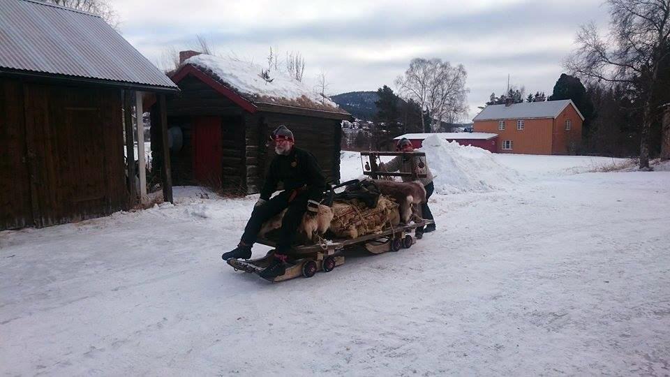 Hypla Truls, Telneset neste! Mon tro hvor langt vi hadde kommet uten hest? Foto: Jøran Lunde