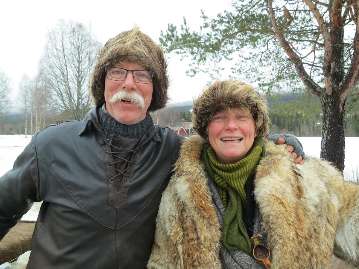 Geir Invaldsen fra ØVRE Veldre og Mari Bryhni fra Løten. Foto: Karine Bogsti