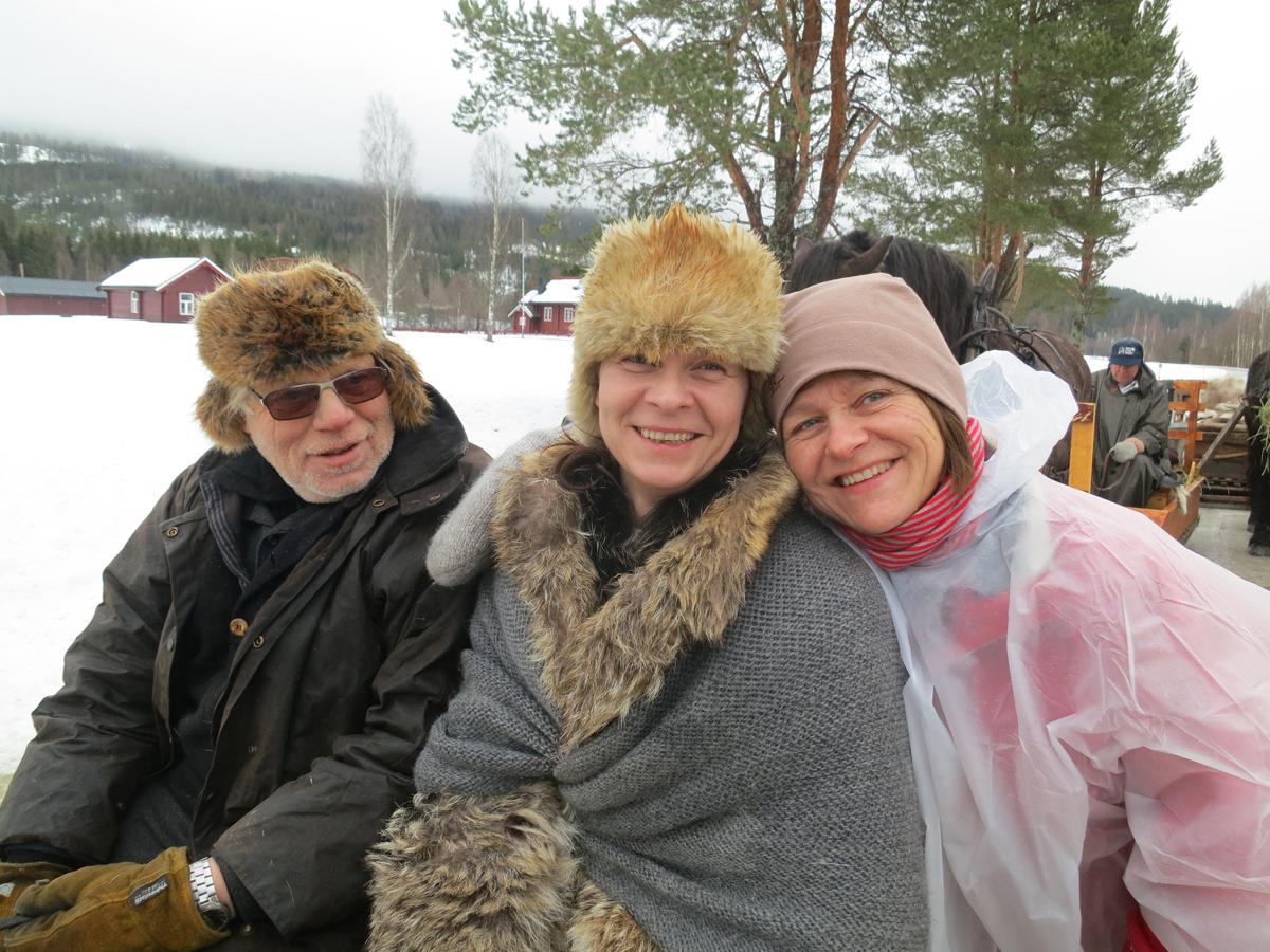 Kjell Ivar Stensli fra Brumunddal, Gry Ottesen fra Brøttum og Marit Lahlum-Ruud fra Stange. Foto: Karine Bogsti
