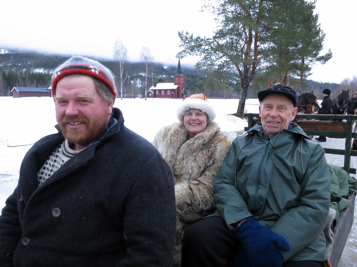 Truls Mathisen fra Romedal, Eli Lang-Ree fra Stange og Emil Bryn fra Romedal. Foto: Karine Bogsti
