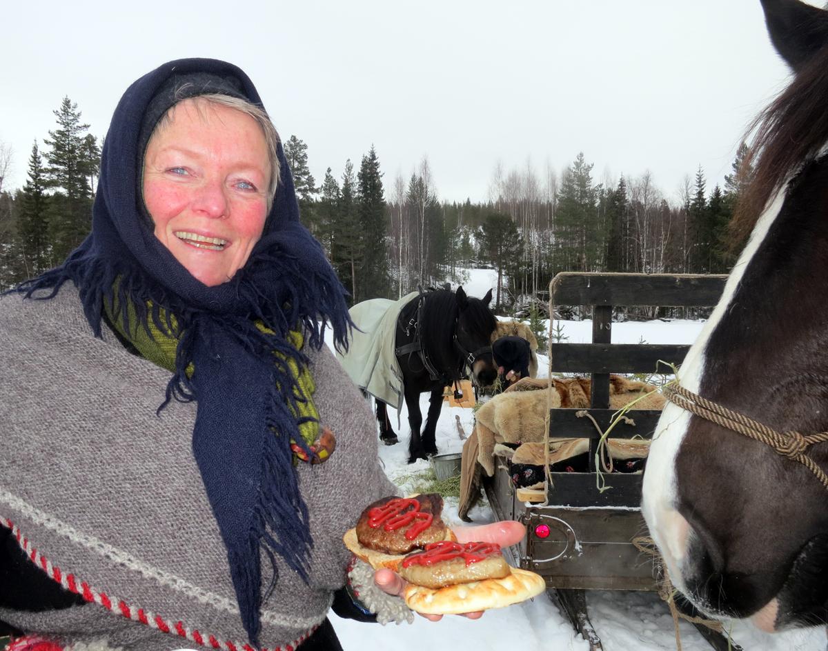 Mmm, ittno er som varme karbonader fra Nortura i langkvilen! Foto: Karine Bogsti