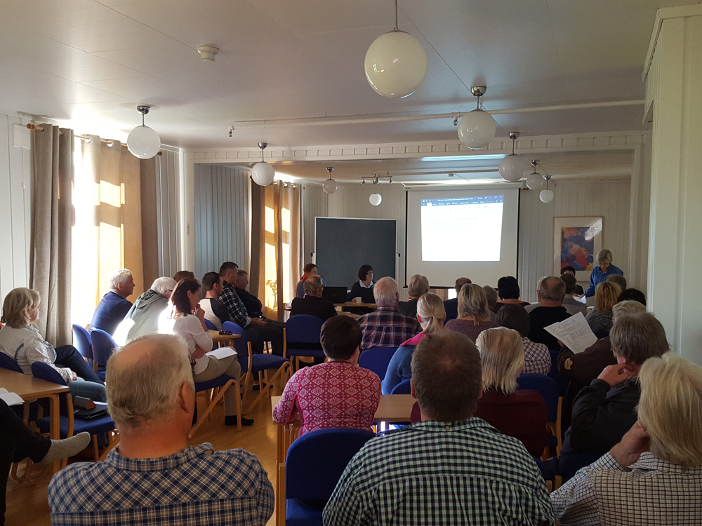 Den 13. Forbondriksdagen i rekka er i gang. Foto: Karine Bogsti